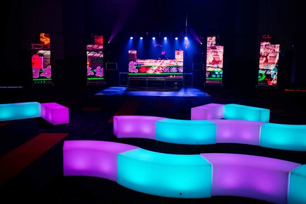 LED Bench Seats