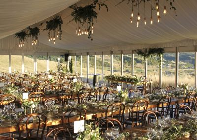 12m x 25m Roof Lining at Kinloch Club Lodge Wedding Marquee