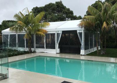 6m x 12m Premium (poolside in Remuera)