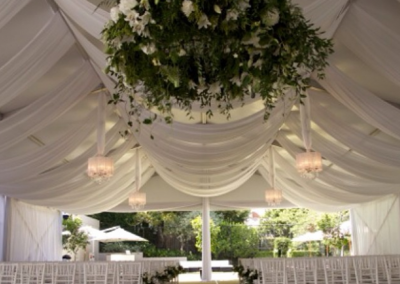 Ceremony Marquee - Draping by La Lumiere