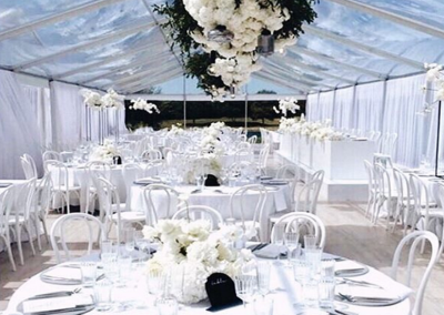 VIP Marquee with Clear Roof at Te Hihi Estate - Styled By PS I Love You